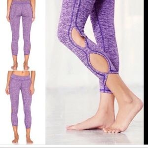 Free People Pants - Free People movement infinity cut out leggings